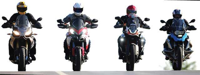 KTM 1190 Adventure R - BMW R1200GS - Ducati Multistrada - Aprilia Caponord 1200 12. İçerik Fotoğrafı