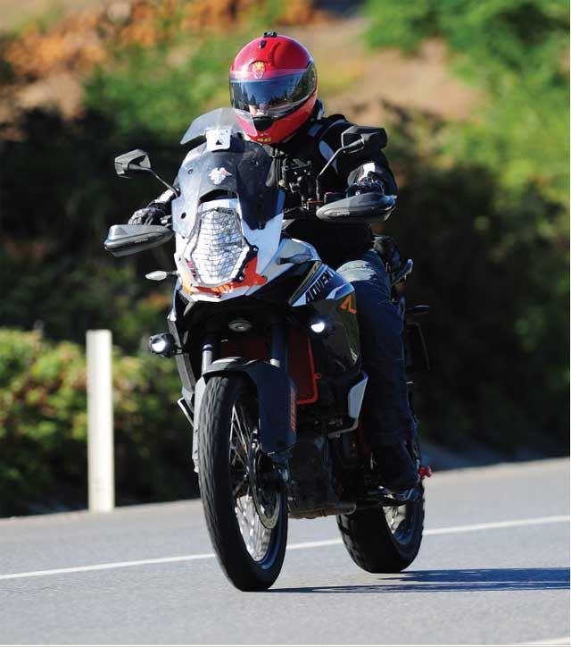 KTM 1190 Adventure R - BMW R1200GS - Ducati Multistrada - Aprilia Caponord 1200 4. İçerik Fotoğrafı