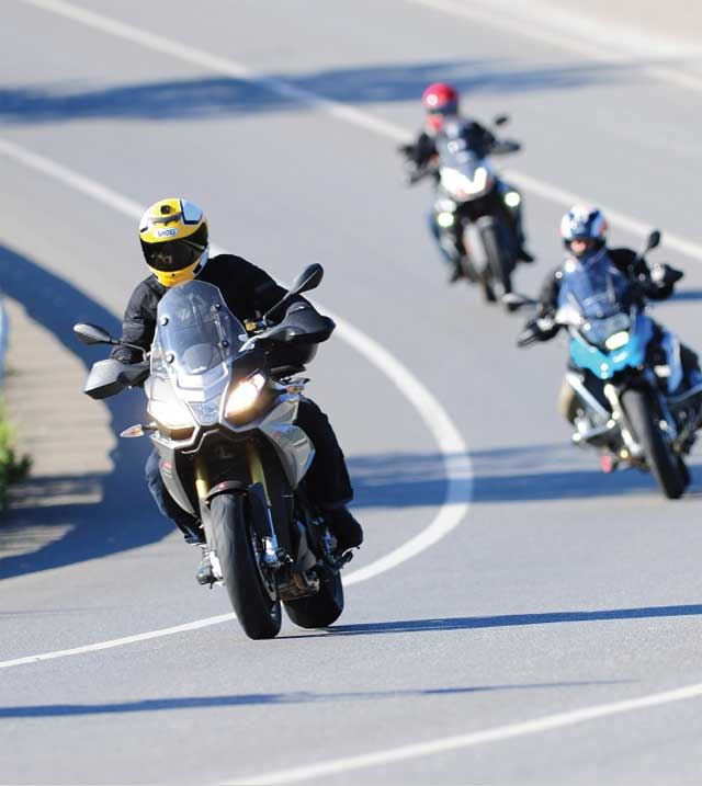 KTM 1190 Adventure R - BMW R1200GS - Ducati Multistrada - Aprilia Caponord 1200 5. İçerik Fotoğrafı