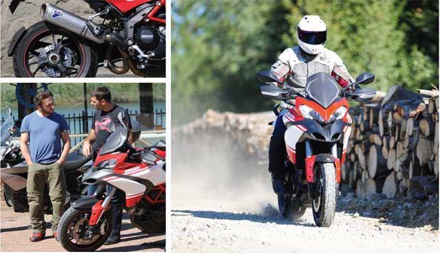 KTM 1190 Adventure R - BMW R1200GS - Ducati Multistrada - Aprilia Caponord 1200 7. İçerik Fotoğrafı