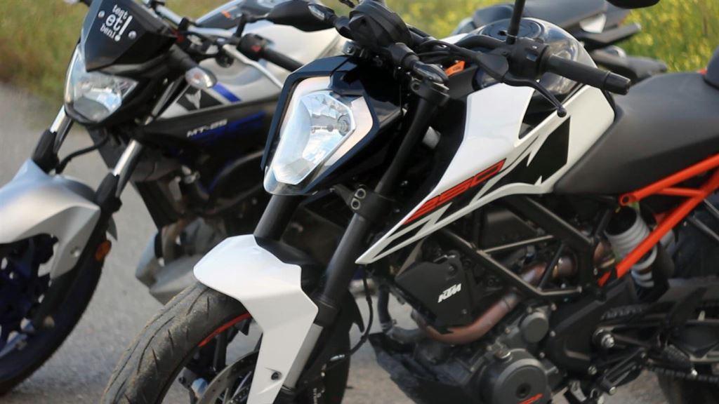 KTM Duke 250 ve Yamaha MT-25  6. İçerik Fotoğrafı