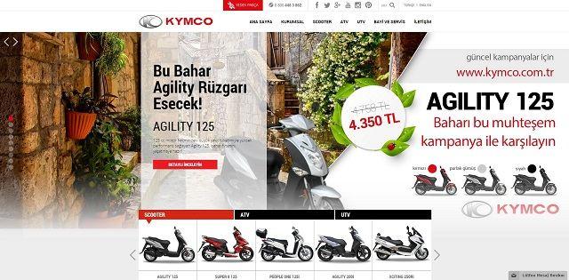 Kymco.com.tr'ye Yakın Bakış 1. İçerik Fotoğrafı