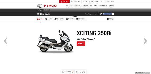 Kymco.com.tr'ye Yakın Bakış 10. İçerik Fotoğrafı