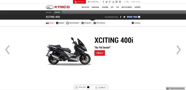 Kymco.com.tr'ye Yakın Bakış 12. İçerik Fotoğrafı