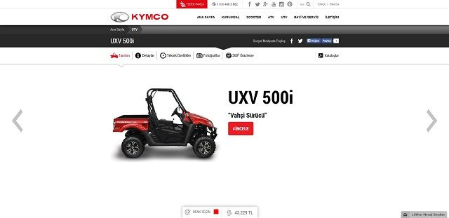 Kymco.com.tr'ye Yakın Bakış 17. İçerik Fotoğrafı