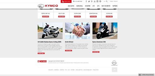 Kymco.com.tr'ye Yakın Bakış 2. İçerik Fotoğrafı