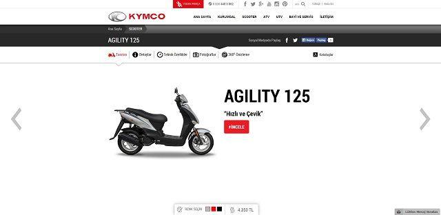Kymco.com.tr'ye Yakın Bakış 6. İçerik Fotoğrafı