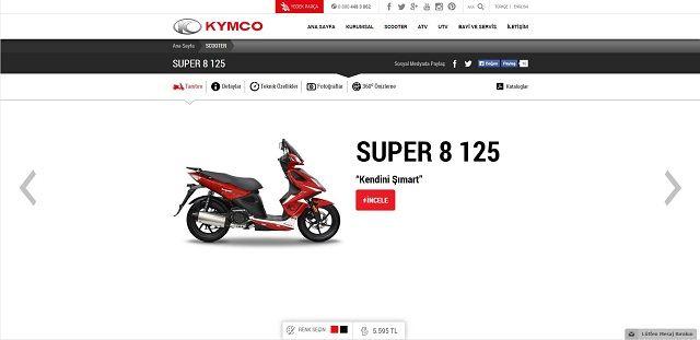 Kymco.com.tr'ye Yakın Bakış 7. İçerik Fotoğrafı
