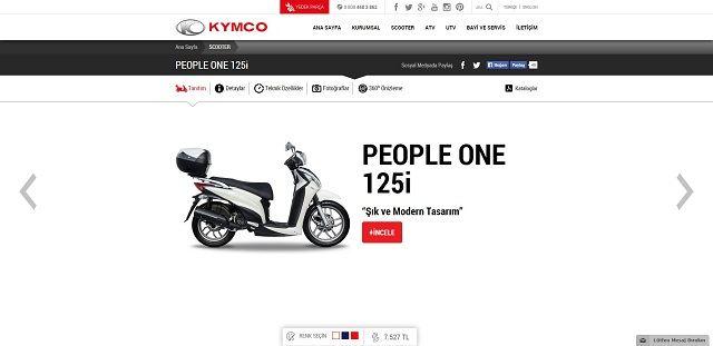 Kymco.com.tr'ye Yakın Bakış 8. İçerik Fotoğrafı