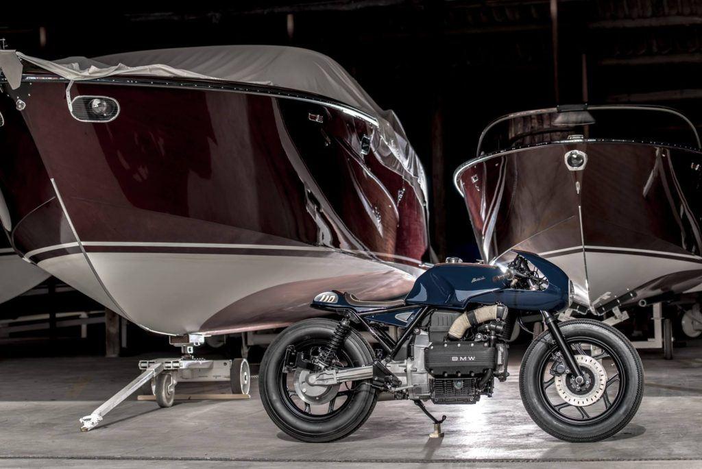 Lüks Yat Kavramı BMW K100 ile Tanışınca!  1. İçerik Fotoğrafı