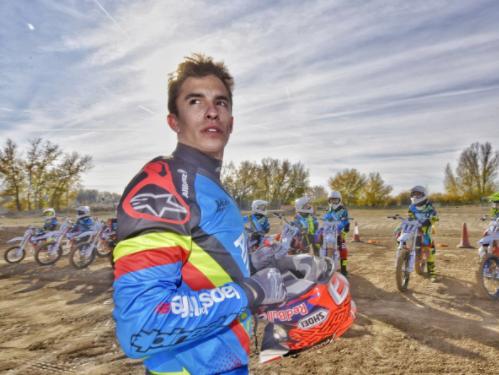 Marc Marquez-Allianz İşbirliği Junior Motor Kampı!  8. İçerik Fotoğrafı
