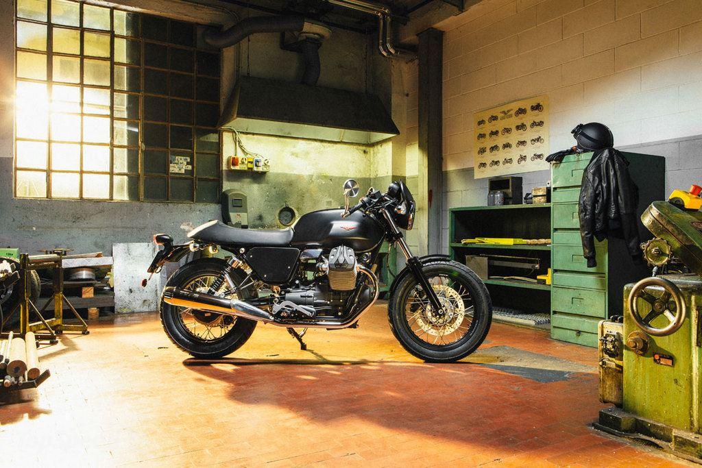 Moto Guzzi'den V7 II için Kişiselleştirme Kitleri 1. İçerik Fotoğrafı
