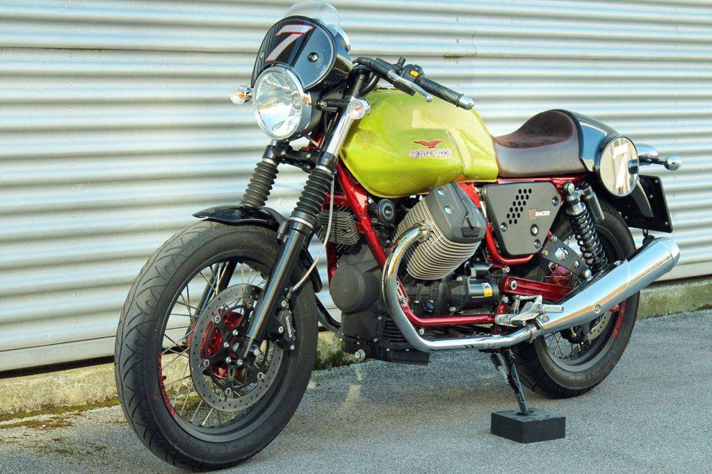 Moto Guzzi V7 Racer Verde Legnano Special Edition 1. İçerik Fotoğrafı