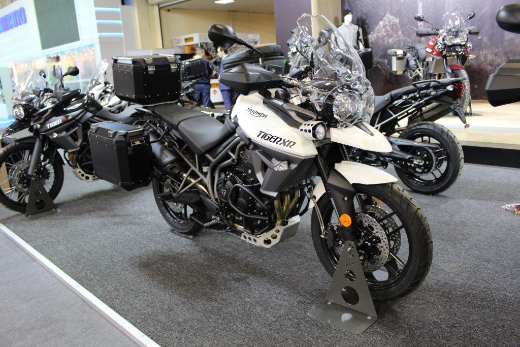 Motobike Expo 2017 Triumph Standı! 2. İçerik Fotoğrafı