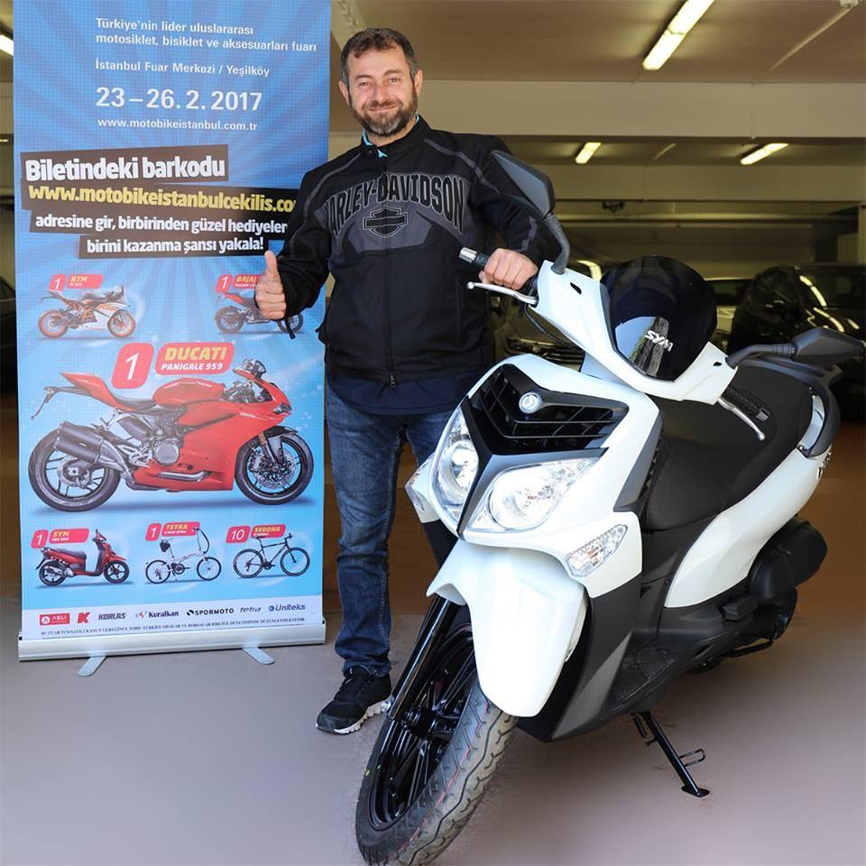 Motobike İstanbul Fuarı Çekilişinde Hediyeler Sahiplerini Buldu! 3. İçerik Fotoğrafı