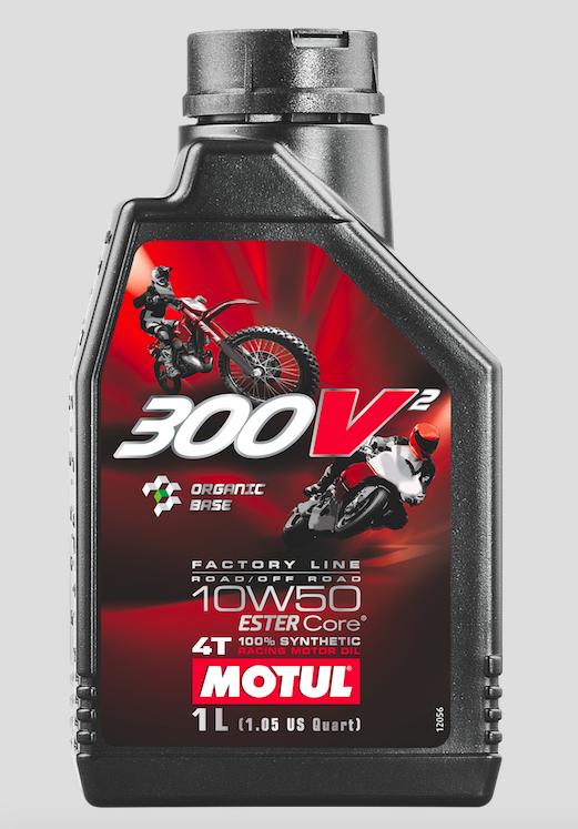 Motorsporlarına Özel Yeni Ürün Motul 300V² 10W50! 1. İçerik Fotoğrafı