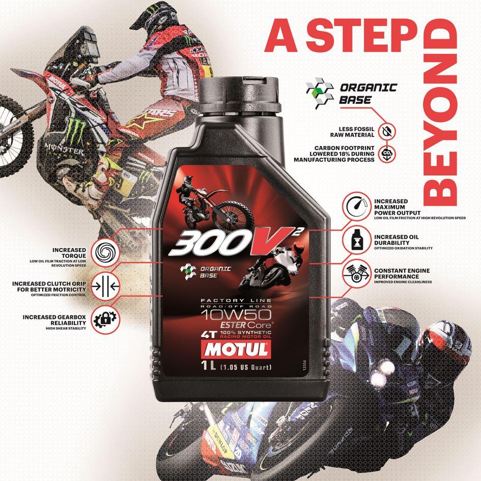 Motorsporlarına Özel Yeni Ürün Motul 300V² 10W50! 3. İçerik Fotoğrafı
