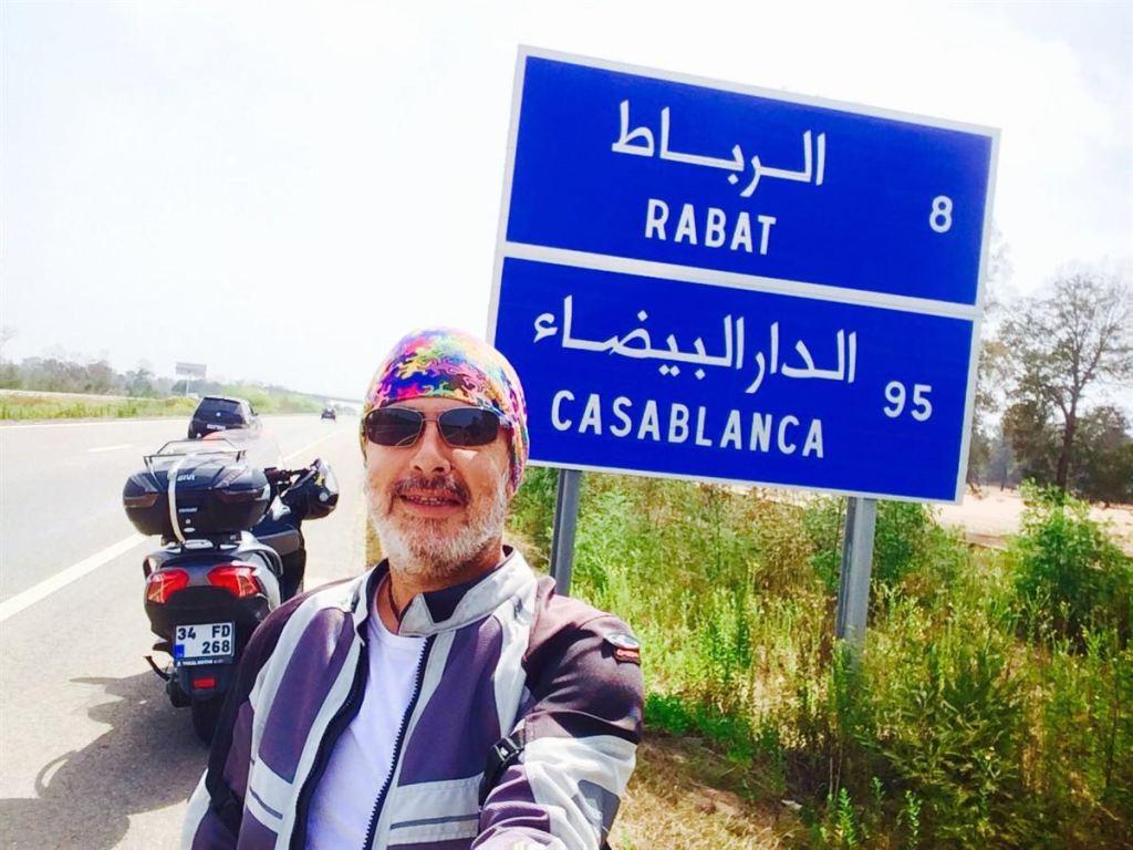 Motosiklet ile Fas Gezisi 6. İçerik Fotoğrafı