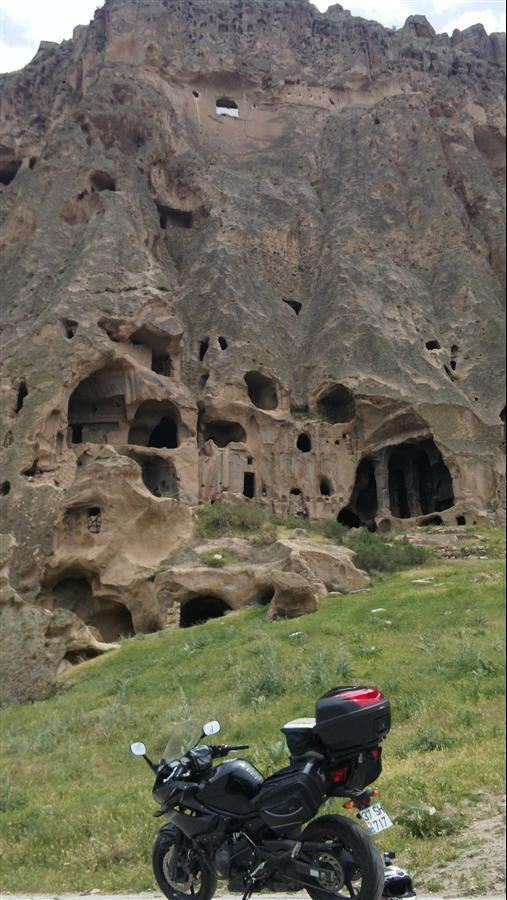 Motosiklet ile Kapdokya'dan Konya'ya Zorlu Yolculuk 6. İçerik Fotoğrafı