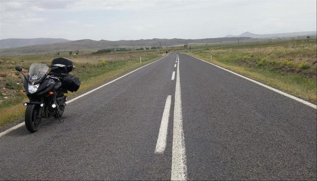 Motosiklet ile Kapdokya'dan Konya'ya Zorlu Yolculuk 9. İçerik Fotoğrafı