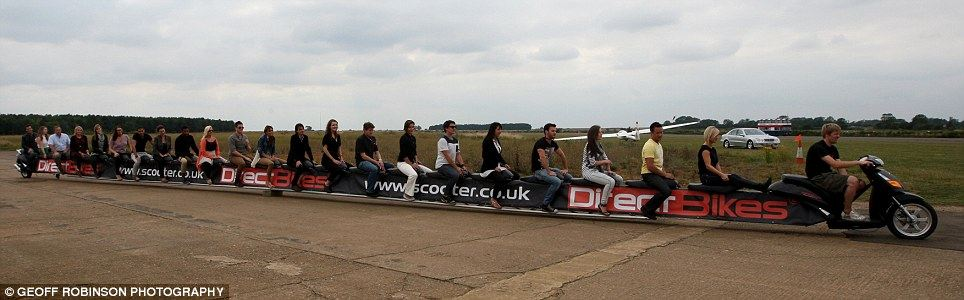 Motosiklet Uzunluk Yarışı 2. İçerik Fotoğrafı