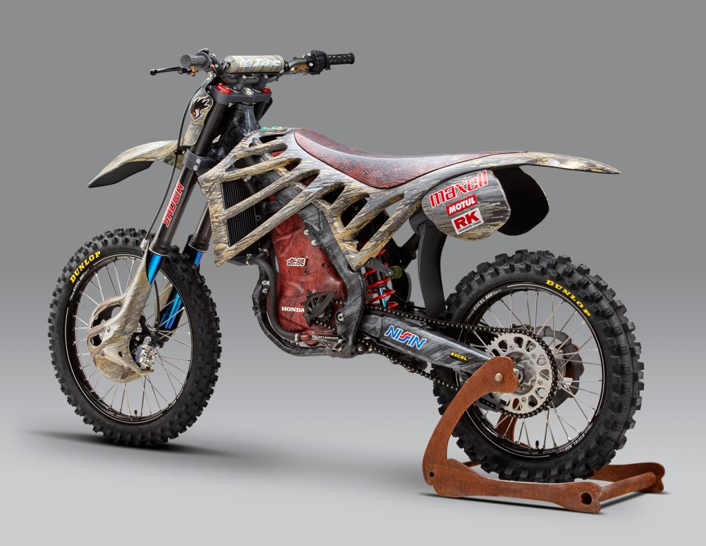 Mugen ve Honda'dan Dinazor Temalı Elektrikli Motosiklet!  1. İçerik Fotoğrafı