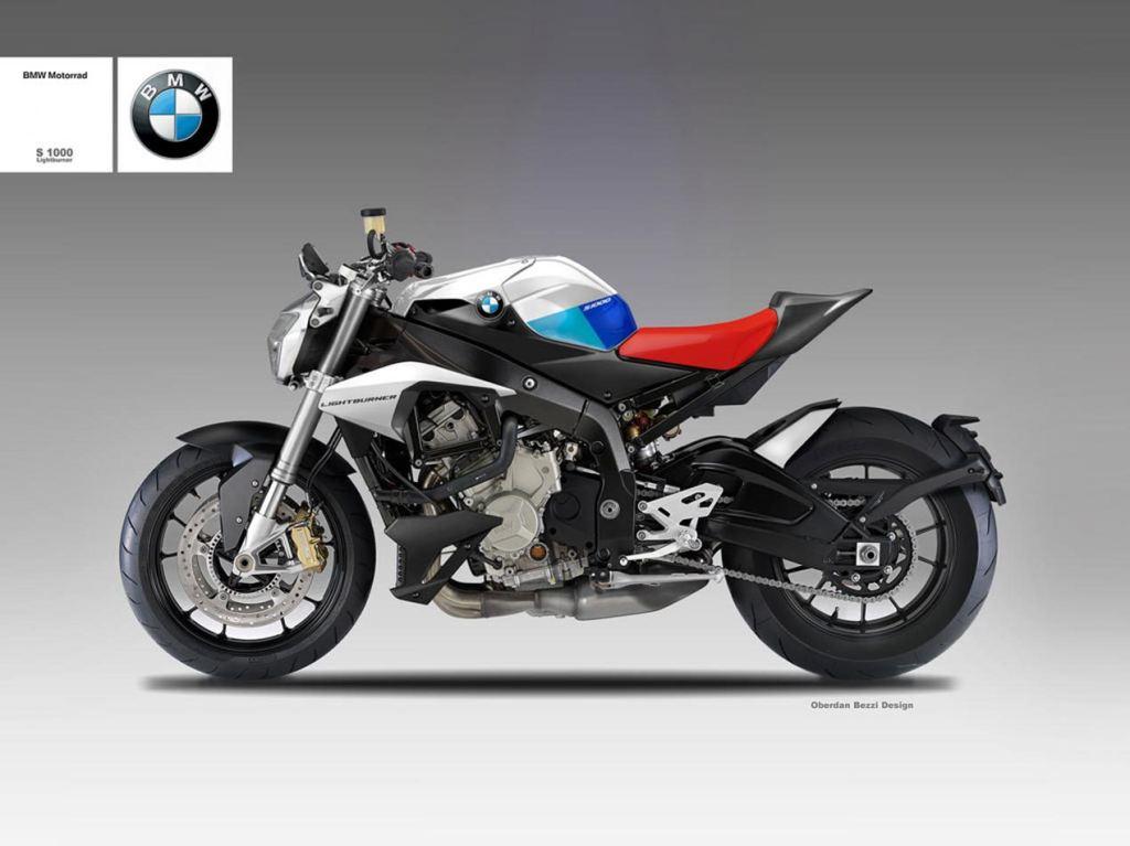 Oberdan Bezzi'den BMW S1000 Lightburner! 1. İçerik Fotoğrafı