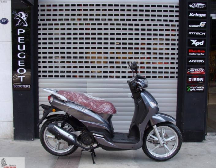 Peugeot'dan Birbirinden Renkli Scooterlar! 2. İçerik Fotoğrafı