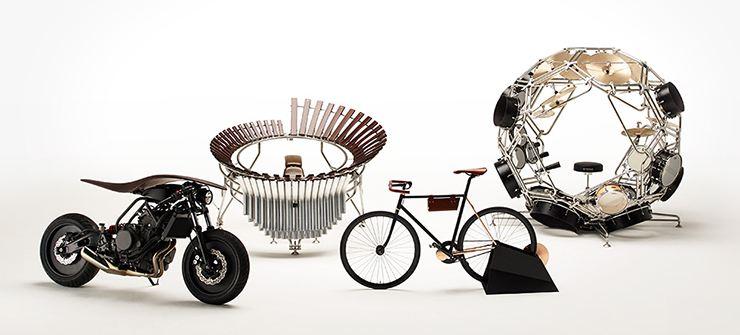 Piyano Tasarımcılarının Elinden Bir Yamaha Motosiklet! 1. İçerik Fotoğrafı