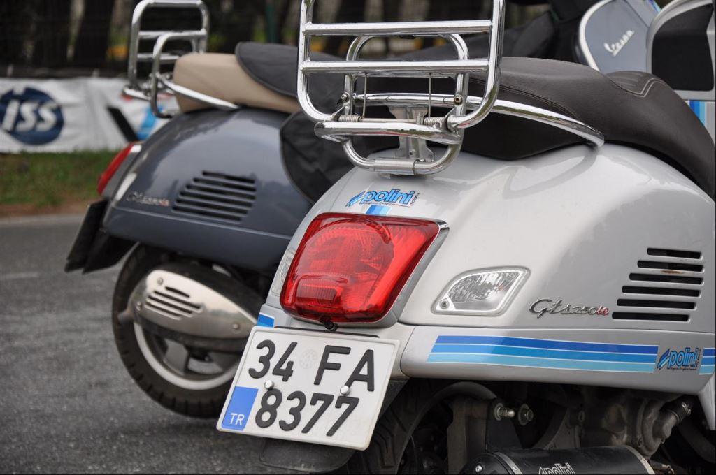 Polini GTS, Standart GTS'e karşı  1. İçerik Fotoğrafı