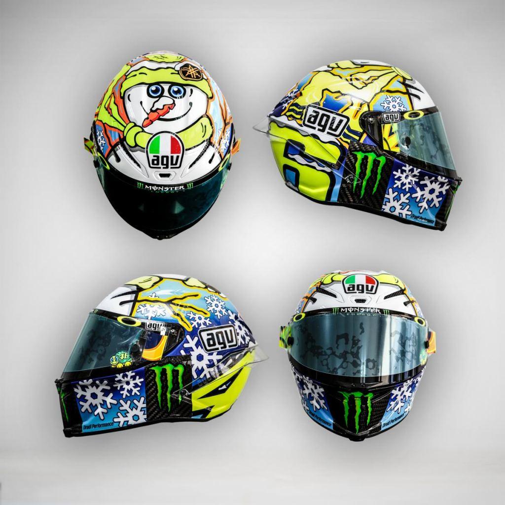 Rossi ve Iannone Yeni Kasklarını Tanıttılar 2. İçerik Fotoğrafı