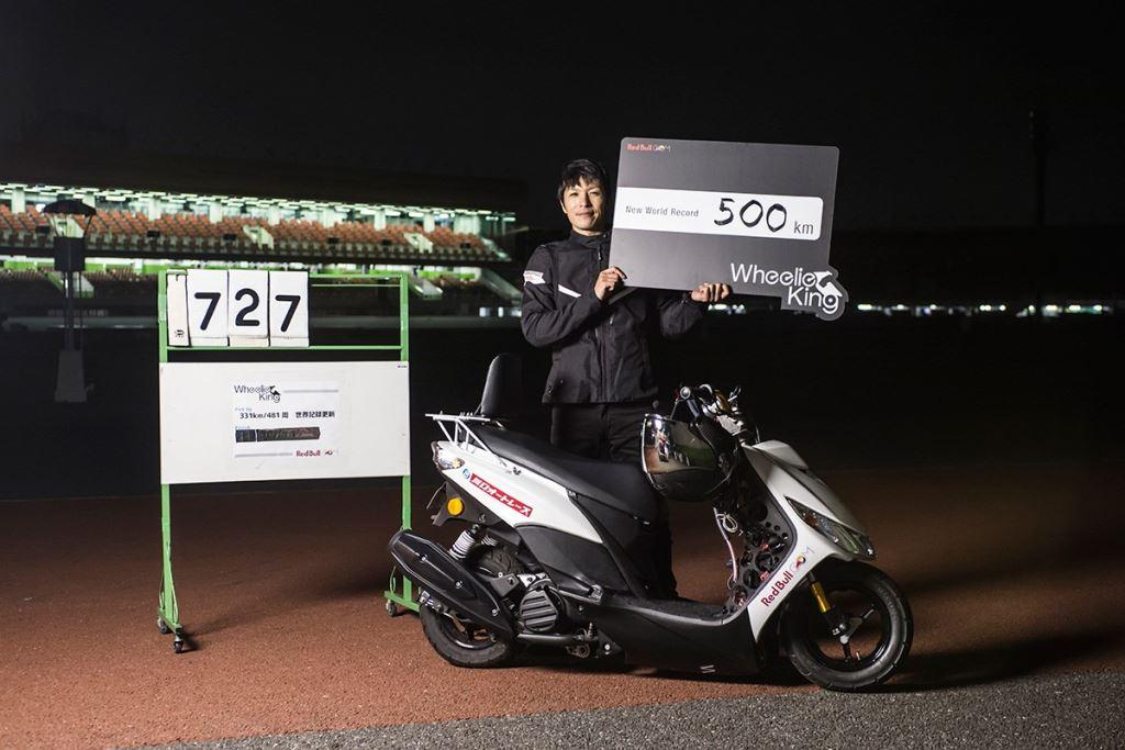 Scooter ile Tek Tekerde Dünya Rekoruna İmza Atan İsim!  4. İçerik Fotoğrafı