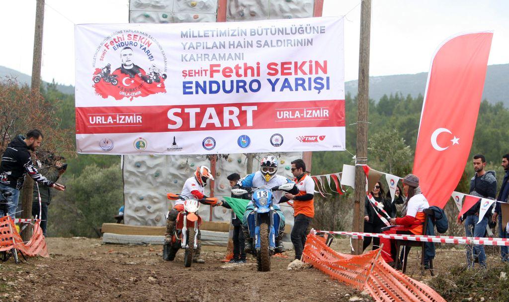 """""""Şehit Fethi Sekin Enduro Yarışı"""", Urla'da Gerçekleşti!  3. İçerik Fotoğrafı"""