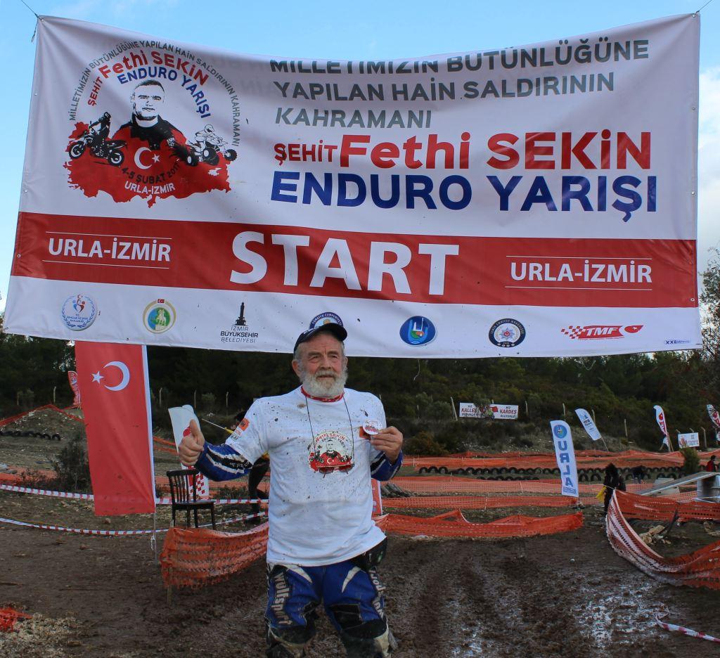 """""""Şehit Fethi Sekin Enduro Yarışı"""", Urla'da Gerçekleşti!  4. İçerik Fotoğrafı"""