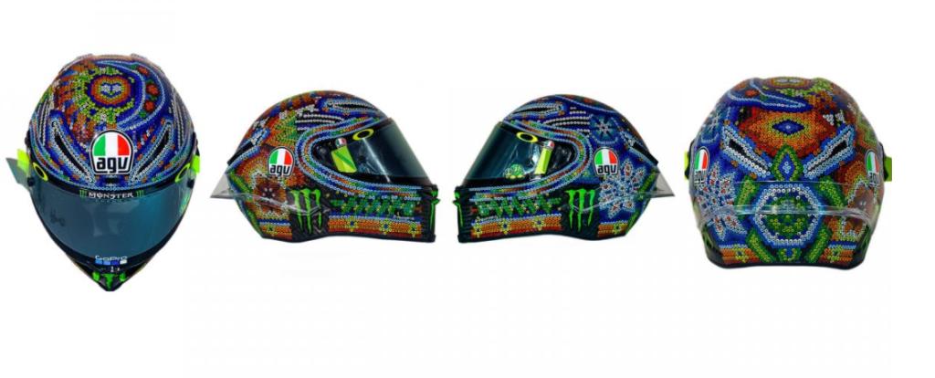 Sepang'ta Rossi ve Yeni Kaskı! 3. İçerik Fotoğrafı
