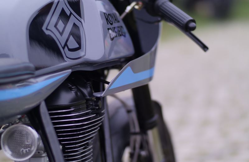 Sinroja Motorcycles'tan Royal Enfield Custom Modeller! 2. İçerik Fotoğrafı
