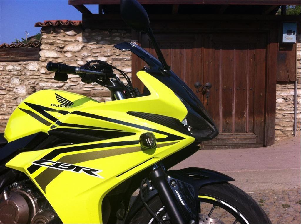 Test: Honda CBR500R  Yeni Tasarımı İle Türkiye Yollarında 2. İçerik Fotoğrafı