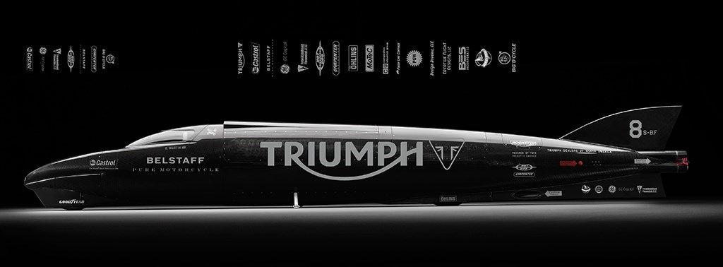 Triumph, 2015 Kara Hız Rekoru Denemesini Erteledi 1. İçerik Fotoğrafı