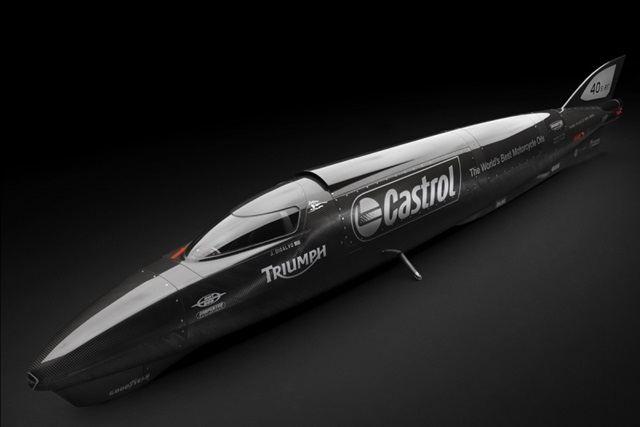Triumph Castrol Rocket Hız Rekorunun Peşinde 1. İçerik Fotoğrafı