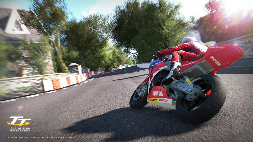 """""""TT Isle of Man Ride on the Edge"""" Oyunu Hakkında Yeni Video!  1. İçerik Fotoğrafı"""