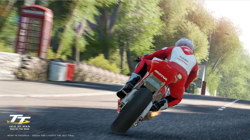 """""""TT Isle of Man Ride on the Edge"""" Oyunu Hakkında Yeni Video!  5. İçerik Fotoğrafı"""