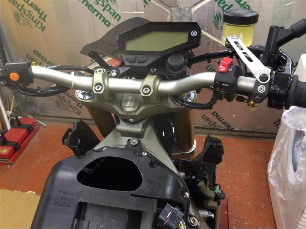 Türkiye'de Bir İlk: Yamaha MT-09'a Brembo RCS 17 Uygulaması  1. İçerik Fotoğrafı