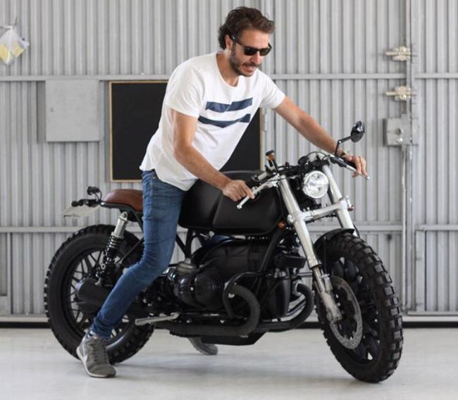 Ünlü İspanyol Futbolcu Xabi Alonso'nun BMW R 100 Cafe Racer'ı! 4. İçerik Fotoğrafı