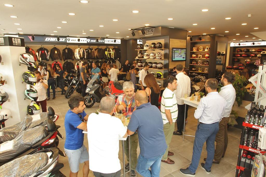 Volkan Işık Grup'un Yeni Mağazası Moto Punto Açıldı! 2. İçerik Fotoğrafı