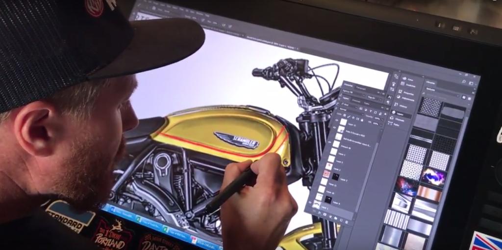 Wheels and Waves'te İki Yeni Ducati Scrambler Ortaya Çıktı! 2. İçerik Fotoğrafı