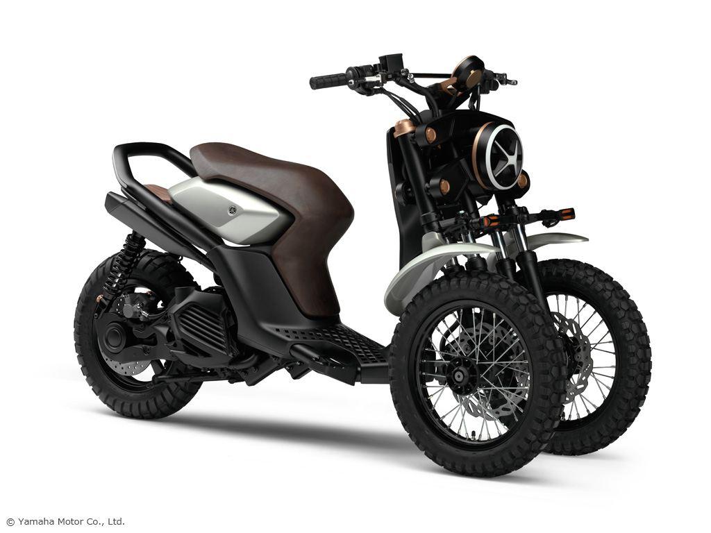 Yamaha'dan Üç Tekerlekli İki Yeni Konsept! 4. İçerik Fotoğrafı