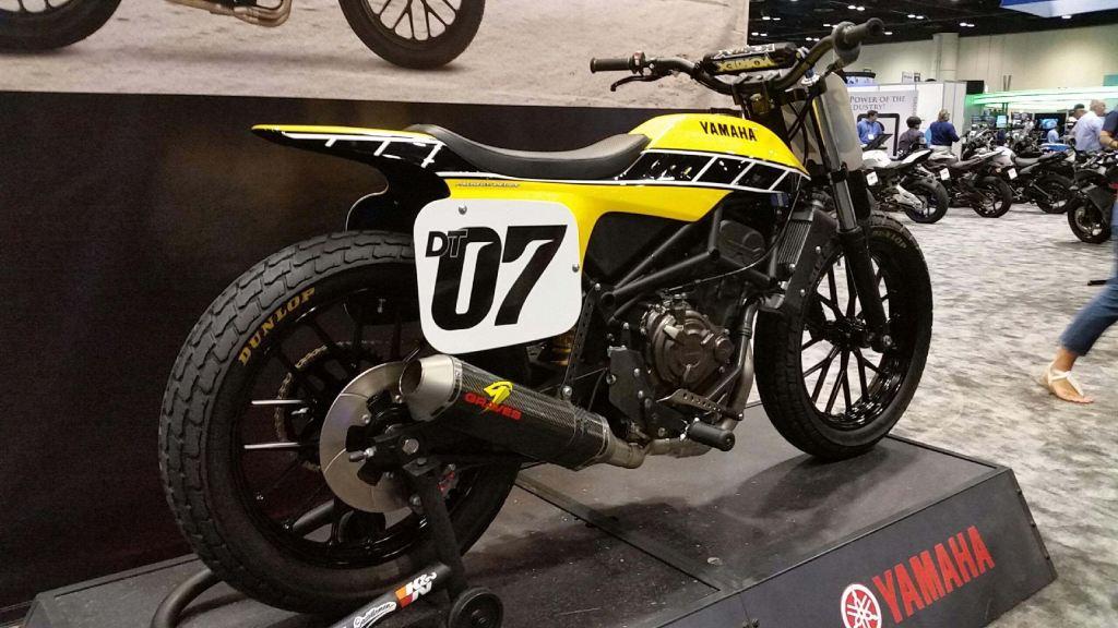 Yamaha DT-07 Flat Track Konsepti Görücüye Çıktı! 1. İçerik Fotoğrafı