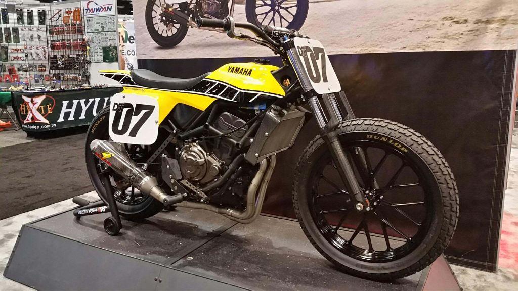 Yamaha DT-07 Flat Track Konsepti Görücüye Çıktı! 6. İçerik Fotoğrafı