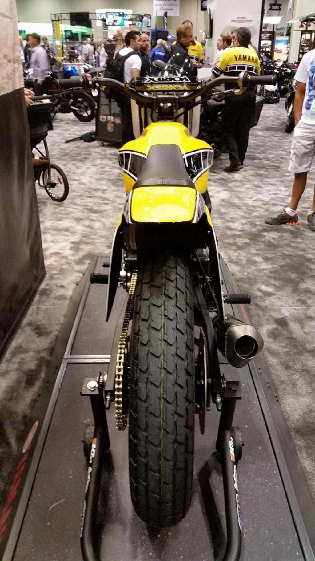 Yamaha DT-07 Flat Track Konsepti Görücüye Çıktı! 7. İçerik Fotoğrafı