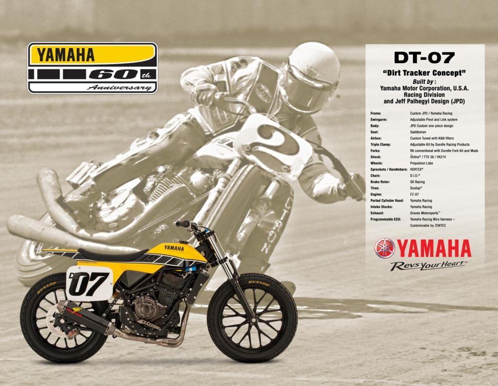 Yamaha DT-07 Flat Track Konsepti Görücüye Çıktı! 8. İçerik Fotoğrafı
